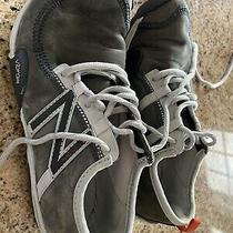 New Balance Minimus Womens Barefoot Trail Sneakers Vibram Gray Size 6 Photo
