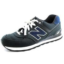 New Balance Ml574 Mens Size 9.5 Black Textile Athletic Sneakers Shoes Photo