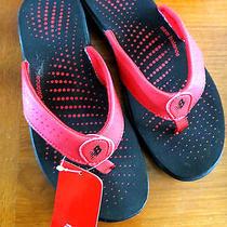 New Balance Red Thong Sandal  New  8m Photo