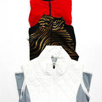 New Balance Rlx Womens Half Zip Top Black White Red Size Extra Small Lot 3 Photo