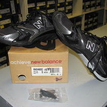 New Balance Rx 204cc Cross Country Running Spikes - Black/silver - Size 11.0 Photo
