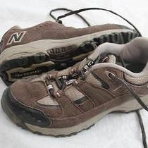 New Balance Size 7 1/2 7.5 B 605 Brown Trail Running Walking Shoes Sneakers Photo