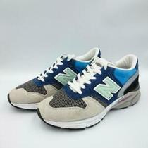 New Balance  uk6.5 Blu Suede Size uk6.5 Blue Low Cut Sneaker 2514 From Japan Photo
