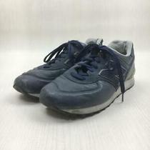 New Balance  uk7.5 Nvy Leather Thread M576nll Size uk7.5 Navy Sneaker Photo