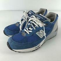 New Balance  uk8.5 Blu Suede Size uk8.5 Blue Low Cut Sneaker 2765 From Japan Photo