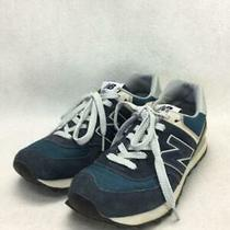New Balance  us7.5 Nvy Suede Ml574vn Size us7.5 Navy Sneaker 3461 From Japan Photo
