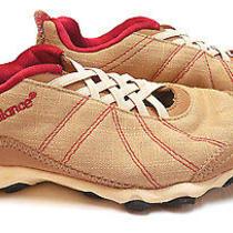 New Balance Wa790bna Tan & Red Trail /  Running Shoes Womens Size 6 1/2 Photo