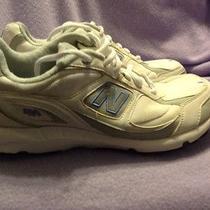 New Balance Woman's Cww490gf Running Shoes White-Gray-Blue Size 11m Photo