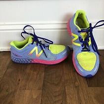 New Balance Women's 6.5 M Fresh Foam Zante V2 Sneakers Running Pink Baby Blue Photo