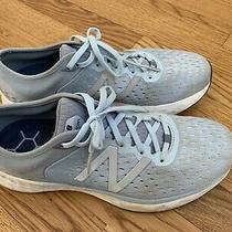 New Balance Womens 1080 V10 Fresh Foam Blue Running Shoes Size 10 B Photo