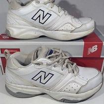 New Balance Womens White Walking Running Shoes W/ Box Wx623wt2 Size 7 Z-508 Photo