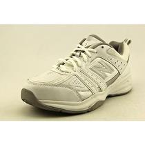 New Balance Wx409 Womens Size 9 White Wide Leather Cross Training Shoes Used Photo