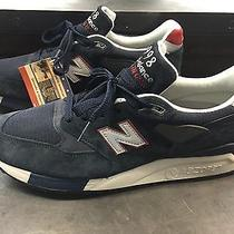 New Balance X J.crew M998mb Navy & Burgundy Size 13 Item 95527 180 Sold Out Photo
