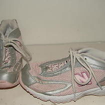 New Balance Youth Kids Juniors Pink Athletic Shoes 3.5 Photo