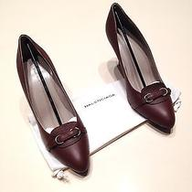 New Balenciaga Cognac Brown Pump Shoes  Photo