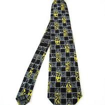 New Balenciaga Paris French Silk Satin Tie Photo