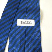 New Bally Blue Tie Photo