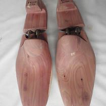 New Bally Scribe Solid Wood Double Barrel Shoe Trees for Shoes Uk 11 11.5  Photo