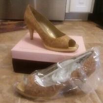 New Bandolino 4in Women's Heel Size 10 Tan Photo