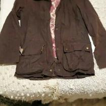 New Barbour Beadnell Wax Coat Jacket Brown/lord Paisley Liberty Print  Size 6us Photo