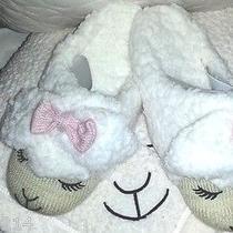 New Bath & Body Works Sz S/m 5-7 Soft Lambie Lamb Count Sheep Slippers Photo