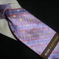 New Bcbg Attitude Silk Tie Violet Purple Photo