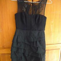 New Bcbg Max Azria Black Dress Us 4 Uk 8/10 295 Photo
