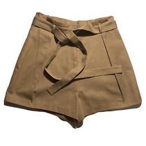 New Bcbg Maxazria Short Skirt for Women Khaki Color Size S. Photo