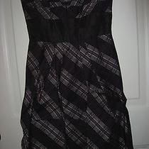 New Bcbg Strapless Taffeta Dress - Size 0 Photo