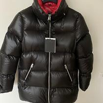 New Beautiful Rare Mackage Women Black/red Down Puffer Jacket Sz Xs 680 Photo