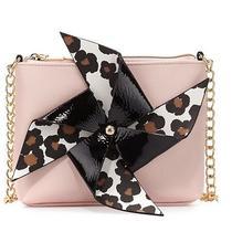 New Betsey Johnson Blush Pinwheel Crossbody Bag Photo