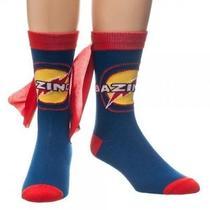 New Big Bang Theory Crew Socks With Cape Licensed Tv Show Bazinga Photo