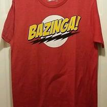 New Big Bang Theory Sheldon Cooper Bazinga Adult Medium T-Shirt Cbs Tv Show Tee Photo