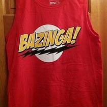 New Big Bang Theory Sheldon Cooper Bazinga Adult Small T-Shirt Cbs Tv Show Tee Photo