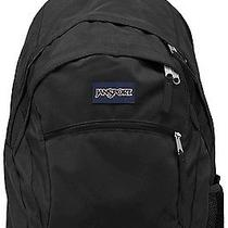 New Big Jansport Black Wasabi 15 Laptop Computer School Student College Backpack Photo