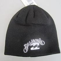 New Billabong Beanie Cap Hat Mens S M L Osfa Black Photo