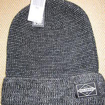 New Billabong Beanie Cap Hat Mens S M L Osfa Grey Black Photo