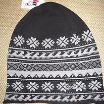 New Billabong Knit Beanie Cap Hat Womens S M L Osfa Petra Black Photo