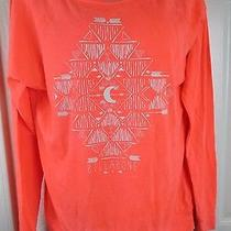 New Billabong L/s Knit Tee in Majestic Sunset Size Small Photo