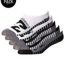 New Billabong Men's Invisible Sock 5 Pack Logo Underwear Black Photo
