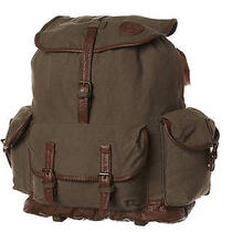 New Billabong Sunset Twirlin Backpack Canvas Luggage Travel Green Photo