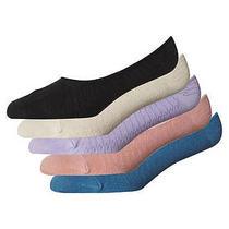 New Billabong Women's the Wave Sock 5 Pack Cotton Underwear Photo