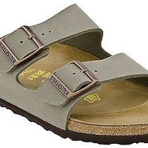 New - Birkenstock 'Arizona' Men's Stone Sandals Size 43 (M-10) Photo