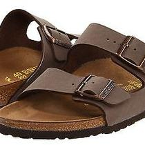 New - Birkenstock 'Arizona' Mocha Birkibuc Sandals Size 42 (L-11 / M-9) Photo