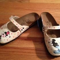 New Birkenstock Birki's Disney Minnie & Mickey Mouse Kissing Sandals 37 Photo