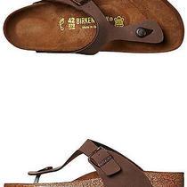 New Birkenstock Men's Mens Gizeh Sandal Men's Shoes Brown Photo