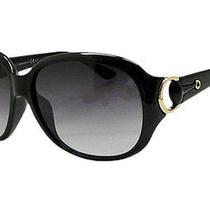 New Black Gucci Gg 3621 F/s (43hdz) 61-15-115 Unisex Sunglasses Photo