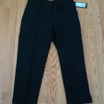 New Black h&m Crop Paints Sz 344 Photo