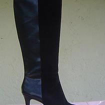 New Black Leather Bandolino Boots Sz 6.5 M 159 Photo