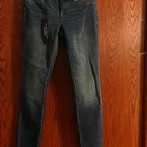 New Blank Nyc Womans Size 26 Super Skinny Spay on Blue Jeans Photo